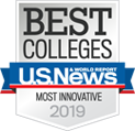 US News Best Colleges - Most Innovative 2019